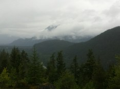 On the Sea to Sky Highway to Whistler
