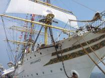This ship was also a school! So amazing