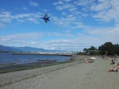 Someone was flying a kite