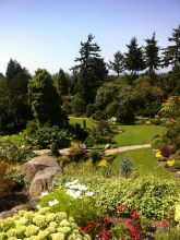 The gardens...