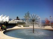 We enjoyed this fountain :)