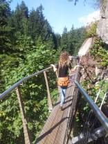 Doing the Cliff walk