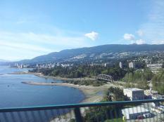 On the way across the bridge