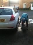 Putting Rob to work...