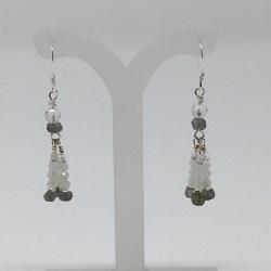 moonstone, labradorite, moonstone earrings, labradorite earrings, lightworker earrings