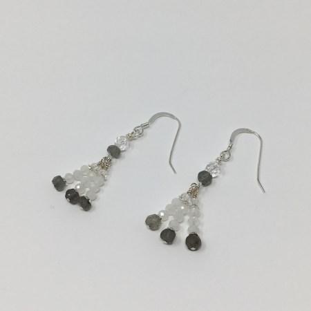 moonstone, labradorite, moonstone earrings, labradorite earrings, healing jewelry