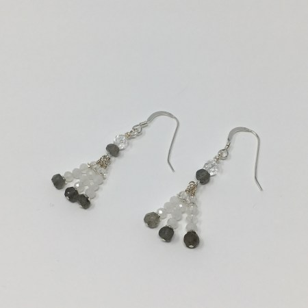 moonstone, labradorite, moonstone earrings, labradorite earrings, healing jewelry