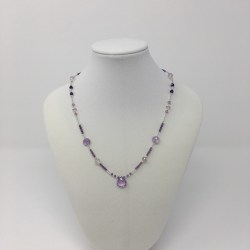 amethyst, amethyst necklace, jewelry for psychics, crystal jewelry