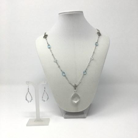 topaz jewelry, goddess jewelry, jewelry for manifestation, jewelry for intention, something blue