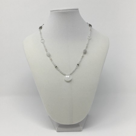 feminine jewelry, feminine energy, made with love, love moonstone, grey moonstone jewelry, crystal jewelry