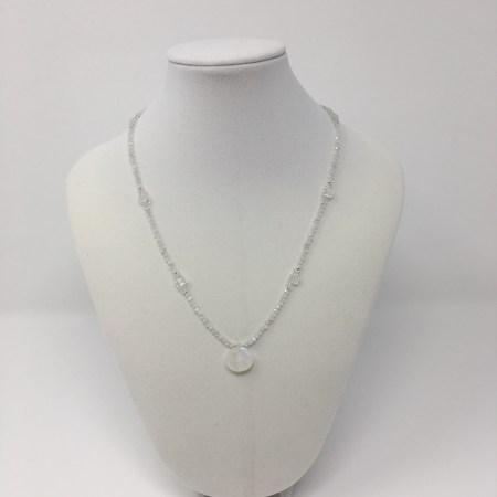elegance, elegant necklace, moonstone necklace, rainbow moonstone jewelry, feminine grace