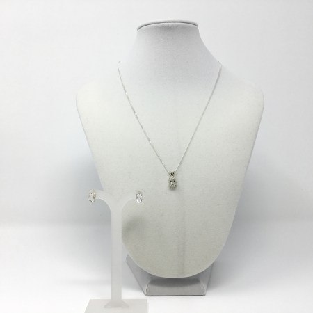herkimer diamond, herkimer diamond earrings, necklace set, stud earrings, ascension jewelry