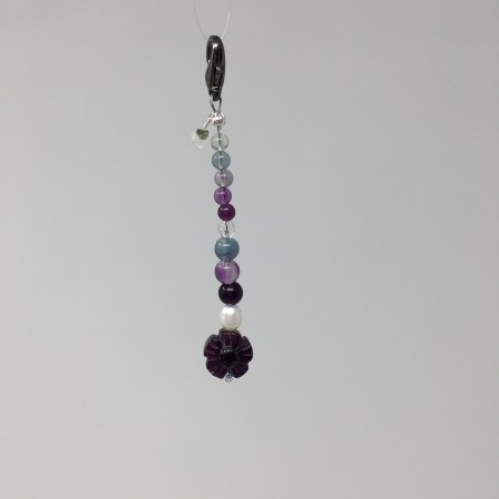 fluorite, mala, stability, order, chaos, crystal healing