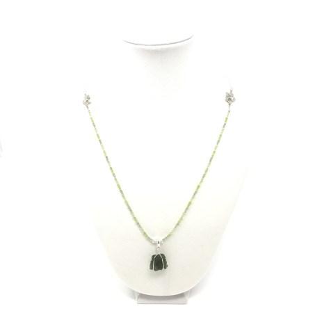 kali, moldavite pendant, moldavite necklace, peridot, fire energy, power piece