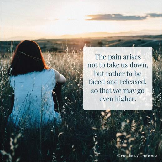 pain, edu grande, ancestral healing, ascension, let go and go higher