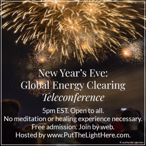 new year's eve, michael fousert, activism, volunteer, energy clearing, personal power