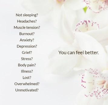 feel better, natural healing, pandemic stress, insomnia help, trauma help, ottawa healing