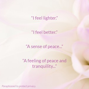 i feel lighter, inner peace, how to get inner peace, how to feel peaceful, jen wozny reviews