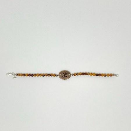 tigers eye, tigers eye jewelry, tigers eye bracelet, om jewelry, om bracelet