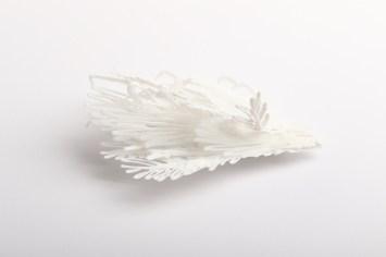 Sofia Björkman ''Ko putns izdarīja'', piespraude-sudrabs 925' polilaktīds