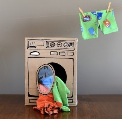 DIY lavadora DE CARTÓN