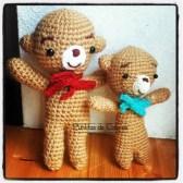 osito redy bear tejido a crochet agua