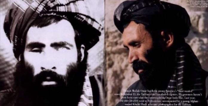 Fotografije za koje se tvrdi da predstavljaju Mulla Omera Mudžahida