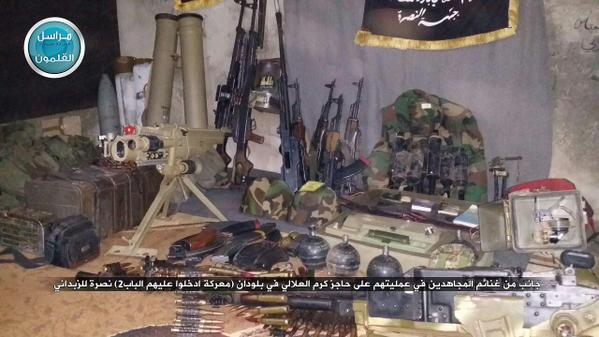 Ratni plijen u napadu na Karmal-Allali