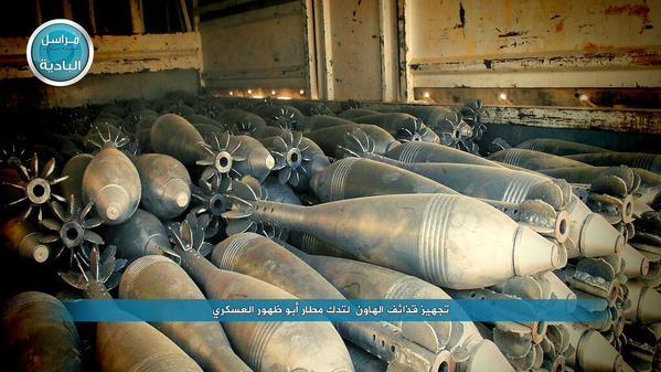 Ratni plijen osvojen u oslobađanju baze Ebu Zuhur u Idlibu