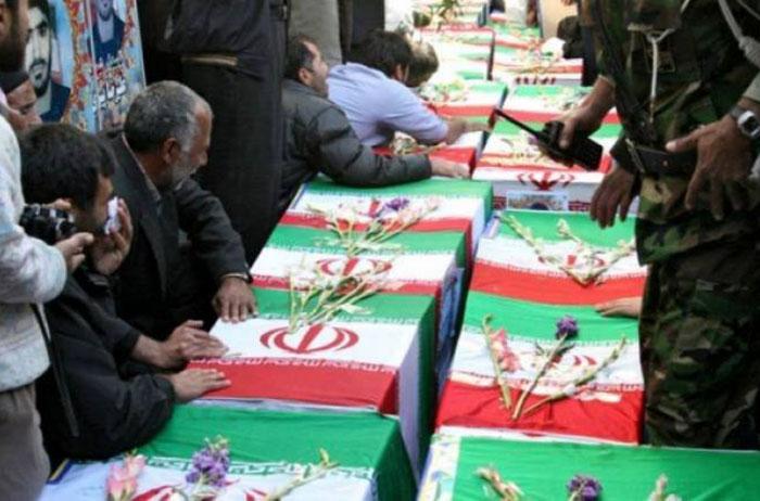 Sahrana ubijenih Iranaca