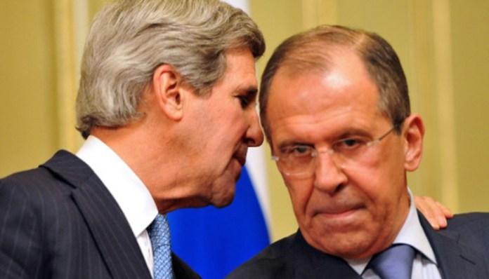 Američki sekretar Džon Keri i ruski ministar spoljnih poslova Lavrov