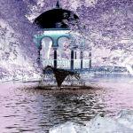 priroda, umjetnicka slika, fontana
