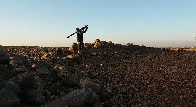 Borac pobunjeničkih snaga koji je MANPAD sistemom pogodio režimski avion u Hami