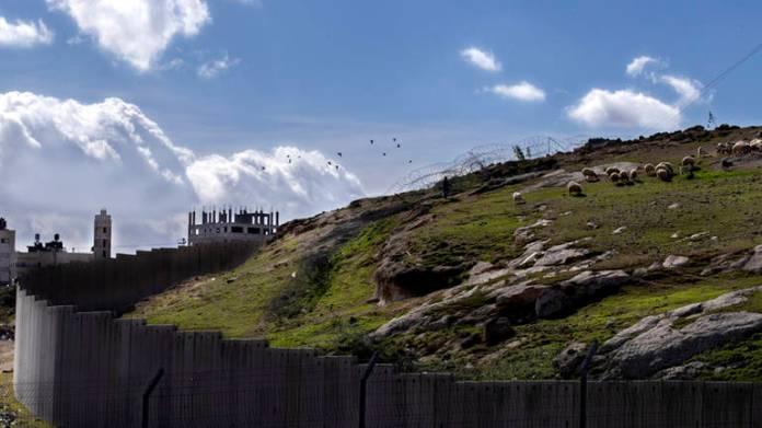 Izraelski zid na granici sa Gazom
