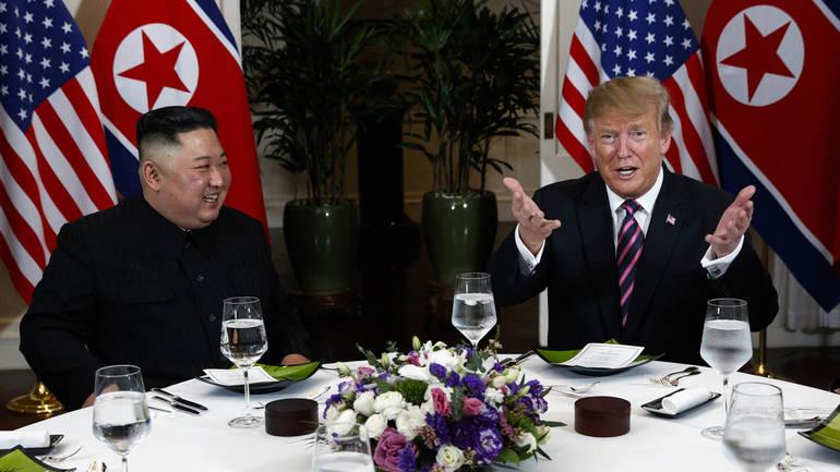 Trump i Kim