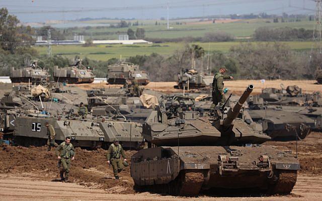 izraelski tenkovi