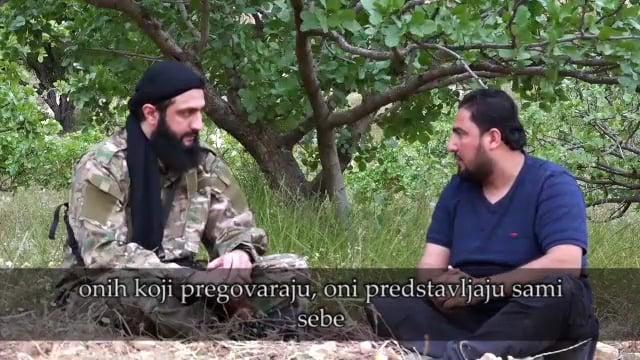 Susret sa Ebu Muhammedom Dževlanijem na frontu u Hami (VIDEO)