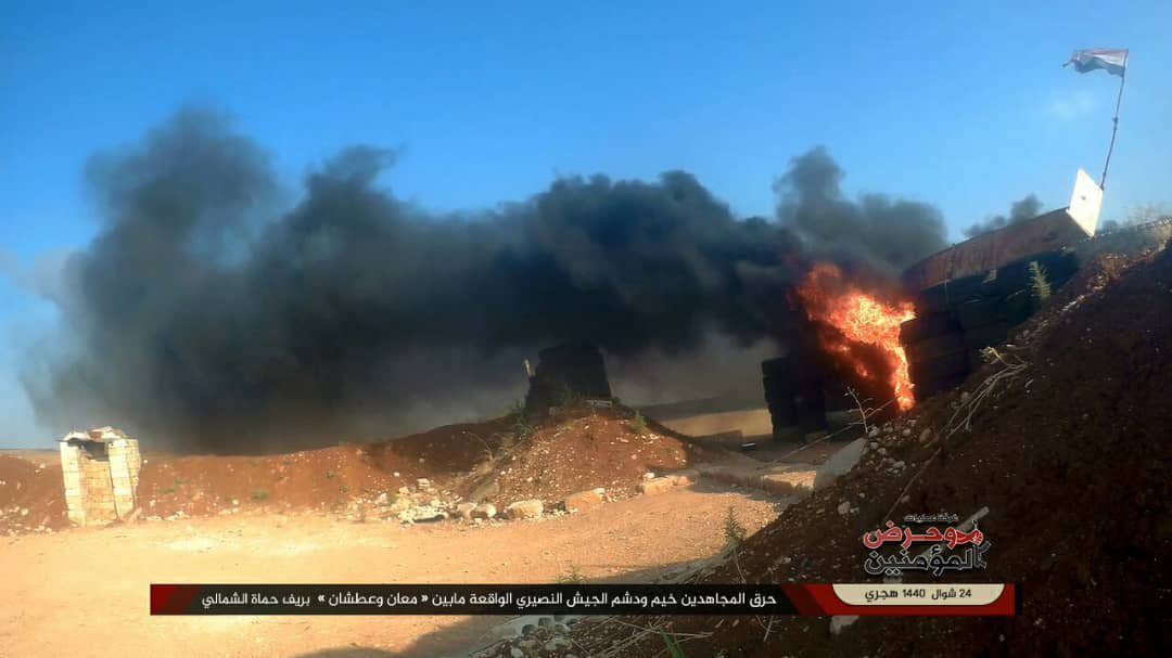 Sirija napad pobunjenika