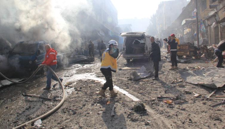Idlib, zločin