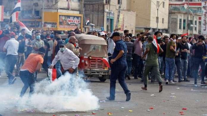 Protesti u Bagdadu