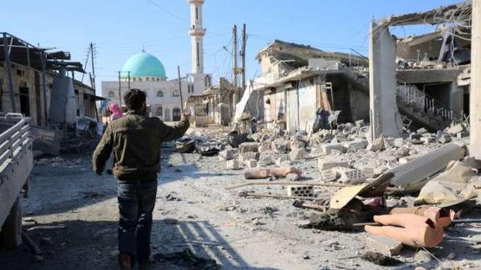Napadi u Idlibu, Sirija