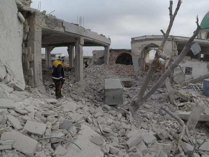 Dzamija Bzabur u predgradju Arihe, Idlib 3