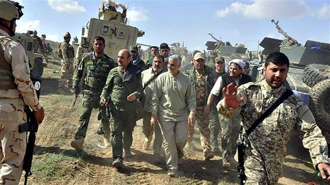 FOTO: Kasem Sulejmani i američki vojnici tokom ofanzive na grad Tikrit
