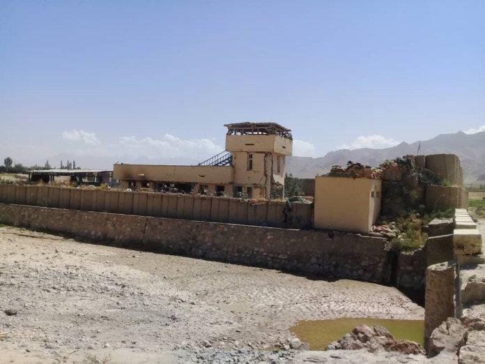 Napuštena baza afganistanskih marionetskih snaga