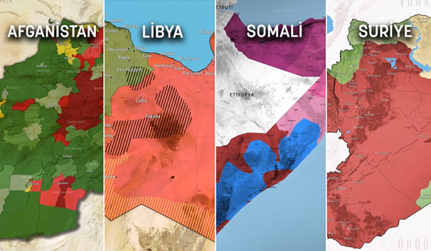mapa kontrole teritorija