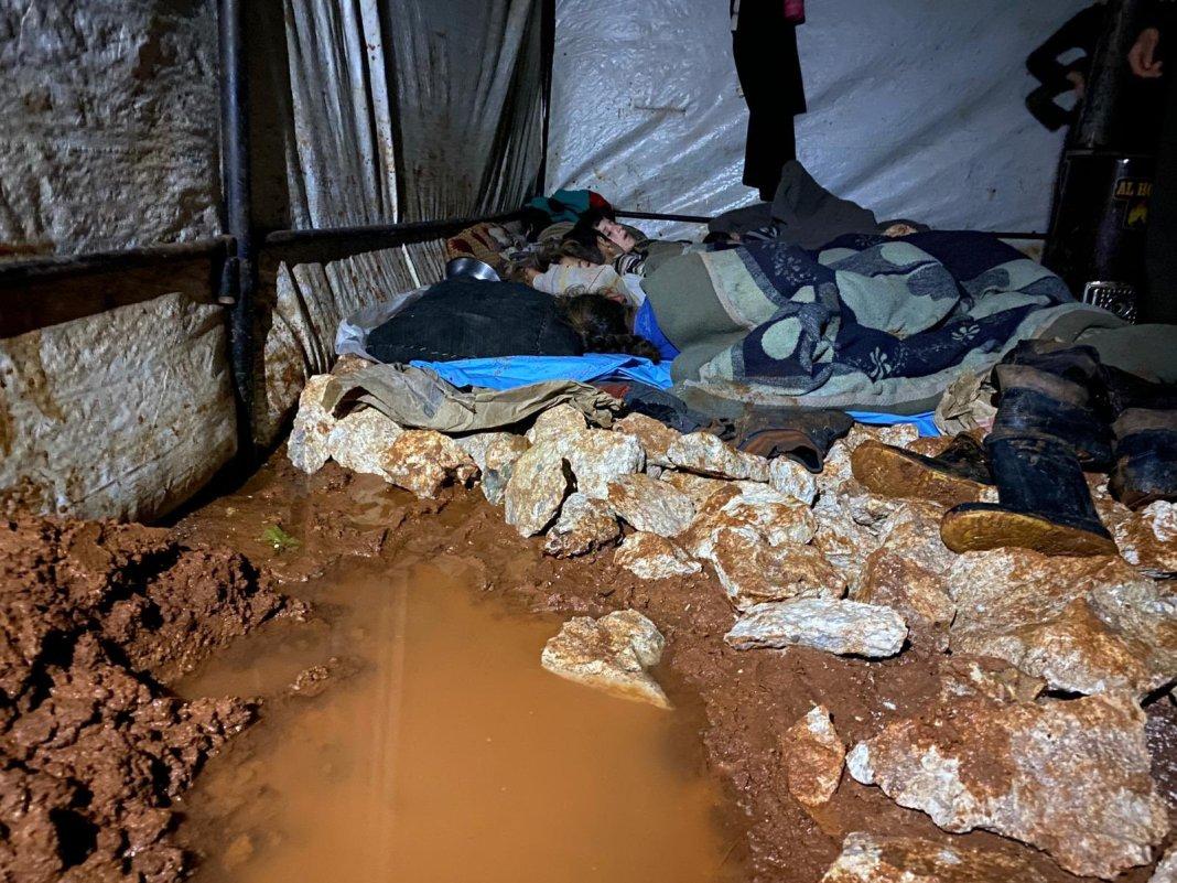 Spavaća soba sirijskih izbjeglica