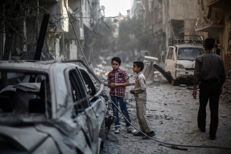 Djeca u ratu u Siriji