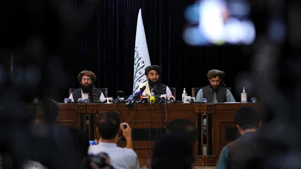 Vođe talibana na konferenciji za novinare nakon pada Kabula