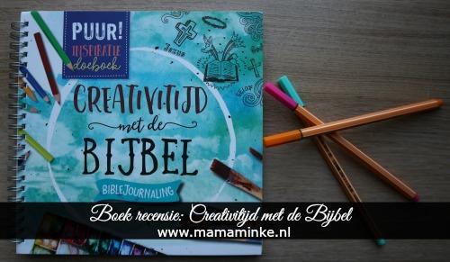 boekrecensie creativitijd met de bijbel. bible journaling