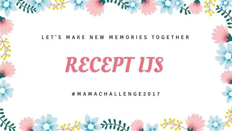 Mamachallenge #4: recept voor ijs